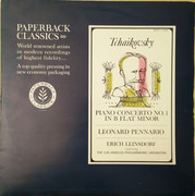LP - Tchaikovsky - Leinsdorf - Piano Concerto No. 1 In B Flat Minor - Mono