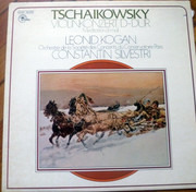 LP - Pyotr Ilyich Tchaikovsky / Leonid Kogan / Constantin Silvestri , Orchestre De La Société Des Concer - Violinkonzert D-dur / Meditation D-moll