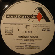 LP - Pyotr Ilyich Tchaikovsky / Leopold Stokowski - Tchaikovsky Fantasia