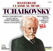 CD - Tchaikovsky - Masters Of Classical Music, Vol.6: Tchaikovsky