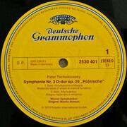 LP - Pyotr Ilyich Tchaikovsky / Moshe Atzmon / Wiener Symphoniker - Symphonie Nr. 3 D-dur Op. 29 'Polnische' (Polish)