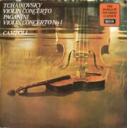 LP - Pyotr Ilyich Tchaikovsky / Niccolò Paganini - Alfredo Campoli - Violin Concerto / Violin Concerto No. 1