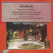 LP - Tchaikovsky / Grainger / Liszt - Piano Concerto No. 2 / Paraphrase On 'The Nutcracker' / Paraphrase On 'Eugene Onegin' - Hexagon labels