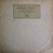 LP - Tchaikovsky / Rachmaninoff - Concerto N° 1 / Concerto N° 2