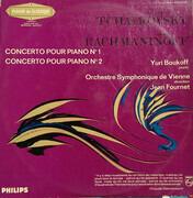 LP - Pyotr Ilyich Tchaikovsky / Sergei Vasilyevich Rachmaninoff - Yuri Boukoff , Klavier - Wiener Sympho - Concerto Pour Piano No.1 / Concerto Pour Piano No.2