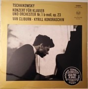 LP - Pyotr Ilyich Tchaikovsky / Van Cliburn , Kiril Kondrashin - Konzert Für Klavier Und Orchester Nr. 1 B-moll, Op. 23