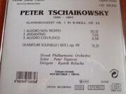 CD - Pyotr Ilyich Tchaikovsky - Klavierkonzert Nr.1 In B-moll Op23 Ouverture solenelle