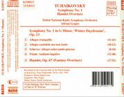 CD - Tchaikovsky - Symphony No. 1 / Hamlet Overture