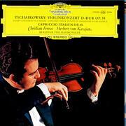 LP - Tschaikowsky - Violinkonzert D-dur Op. 35 / Capriccio Italien Op. 45, Christian Ferras, Karajan