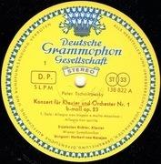 LP - Tchaikovsky - Konzert Für Klavier Und Orchester Nr. 1 B-Moll (Karajan, Richter) - gatefold, tulip rim