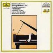 LP - Tchaikovsky - Klavierkonzert Nr. 1 / 5 Préludes - 419 068-1