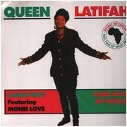 2 x 12inch Vinyl Single - Queen Latifah - Ladies First / Come Into My House - Gatefold