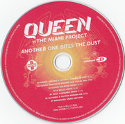 CD Single - Queen Vs The Miami Project - Another One Bites The Dust