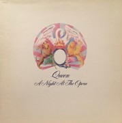 LP - Queen - A Night At The Opera - France