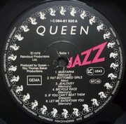 LP - Queen - Jazz - Embossed Gatefold