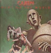 LP - Queen - News Of The World - Green Translucent, Gatefold