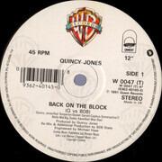 12inch Vinyl Single - Quincy Jones - Back On The Block