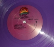 Double LP - Quincy Jones - The Color Purple (Original Motion Picture Sound Track) - Purple vinyl + booklet