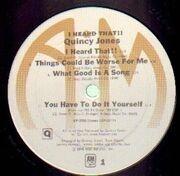 Double LP - Quincy Jones - I Heard That!!
