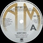 7'' - Quincy Jones - Stuff Like That