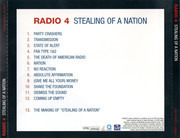 CD - Radio 4 - Stealing Of A Nation