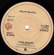 7'' - Ralph McTell - Love Grows