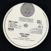 LP - Ramases - Space Hymns - Original 1st UK Swirl
