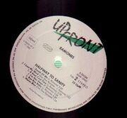 LP - Ramones - Halfway To Sanity