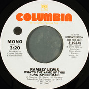 7inch Vinyl Single - Ramsey Lewis - What's The Name Of This Funk (Spider Man)