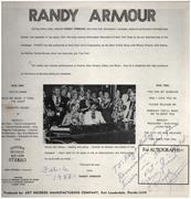 LP - Randy Armour - This One's For You