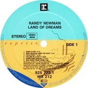 LP - Randy Newman - Land Of Dreams
