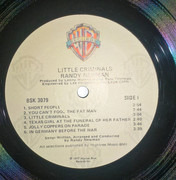 LP - Randy Newman - Little Criminals