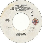 7inch Vinyl Single - Randy Newman - The Natural