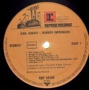 LP - Randy Newman - Sail Away