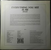LP - Rasa - Everything You See Is Me