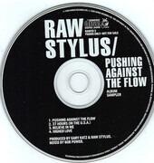 CD - Raw Stylus - Pushing Against The Flow (Album Sampler) - PROMO