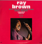LP - Ray Brown All-Star Big Band Guest Soloist: Cannonball Adderley - Ray Brown With The All-Star Big Band - Guest Soloist: Cannonball Adderley