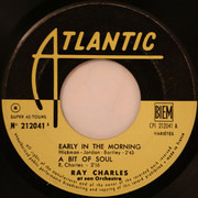 7inch Vinyl Single - Ray Charles And His Orchestra - Early In The Morning