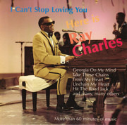 CD - Ray Charles - Here Is Ray Charles  - I Can't Stop Loving You