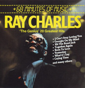 CD - Ray Charles - 'The Genius' 20 Greatest Hits