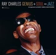 LP - Ray Charles - Genius + Soul = Jazz - HQ-Vinyl / 180g