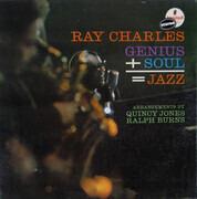 LP - Ray Charles - Genius + Soul = Jazz - Gatefold.
