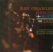 LP - Ray Charles - Genius + Soul = Jazz