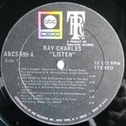 LP - Ray Charles - Invites You To Listen