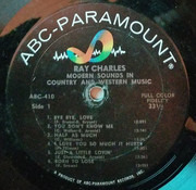 LP - Ray Charles - Modern Sounds In Country And Western Music - Laminated Cover