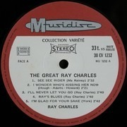 LP - Ray Charles - The Great Ray Charles
