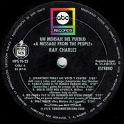LP - Ray Charles - Un Mensaje Del Pueblo