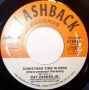 7inch Vinyl Single - Ray Parker Jr. - Christmas Time Is Here