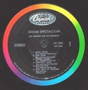 LP - Ray Anthony - Sound Spectacular
