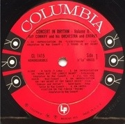 LP - Ray Conniff And His Orchestra & Chorus - Concert In Rhythm